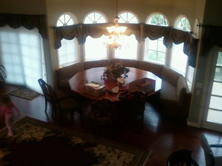 Dream kitchen table area