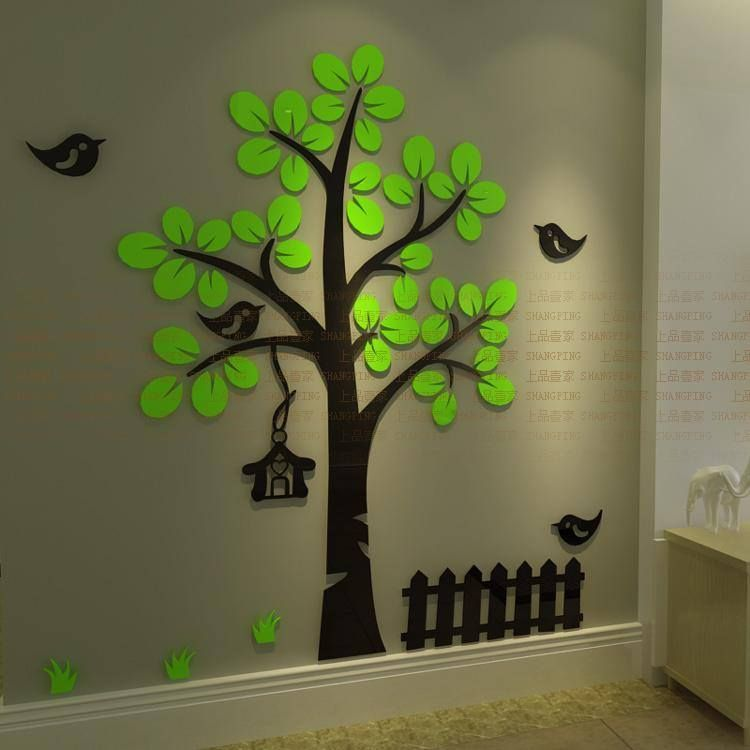 3d Wallpaper Stickers Home Decor Wall Decor Stickers Cheap Wall Art Diy Wall Art