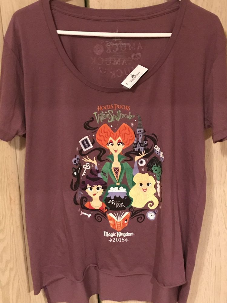 Walt Disney World Halloween T Shirts.Brand New Mickey S Not So Scary Halloween 2018 Hocus Pocus T Shirt