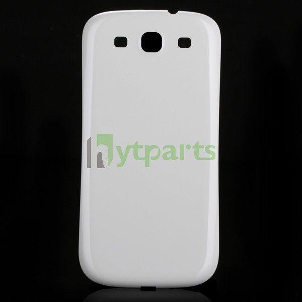 Samsung pone replacement parts-OEM Replacement Back Housing Battery Cover for Samsung Galaxy S3 i9300 White