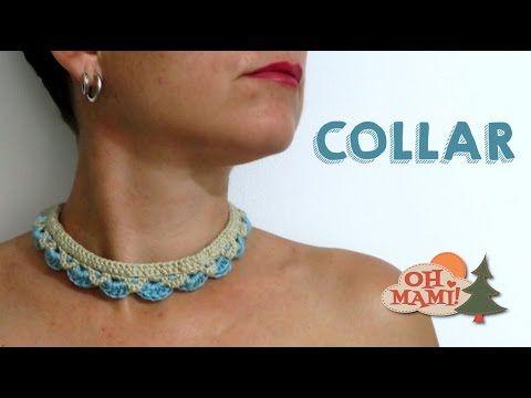 En el tutorial de hoy vamos a hacer este collar a crochet, muy fácil y rápido! Sígueme también en Facebook : https://www.facebook.com/ohmamiana/