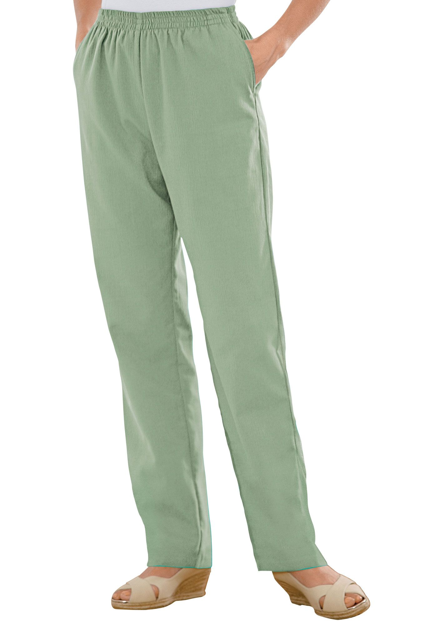 2684ea439c9 Petite pants in Calcutta cloth by Only Necessities®
