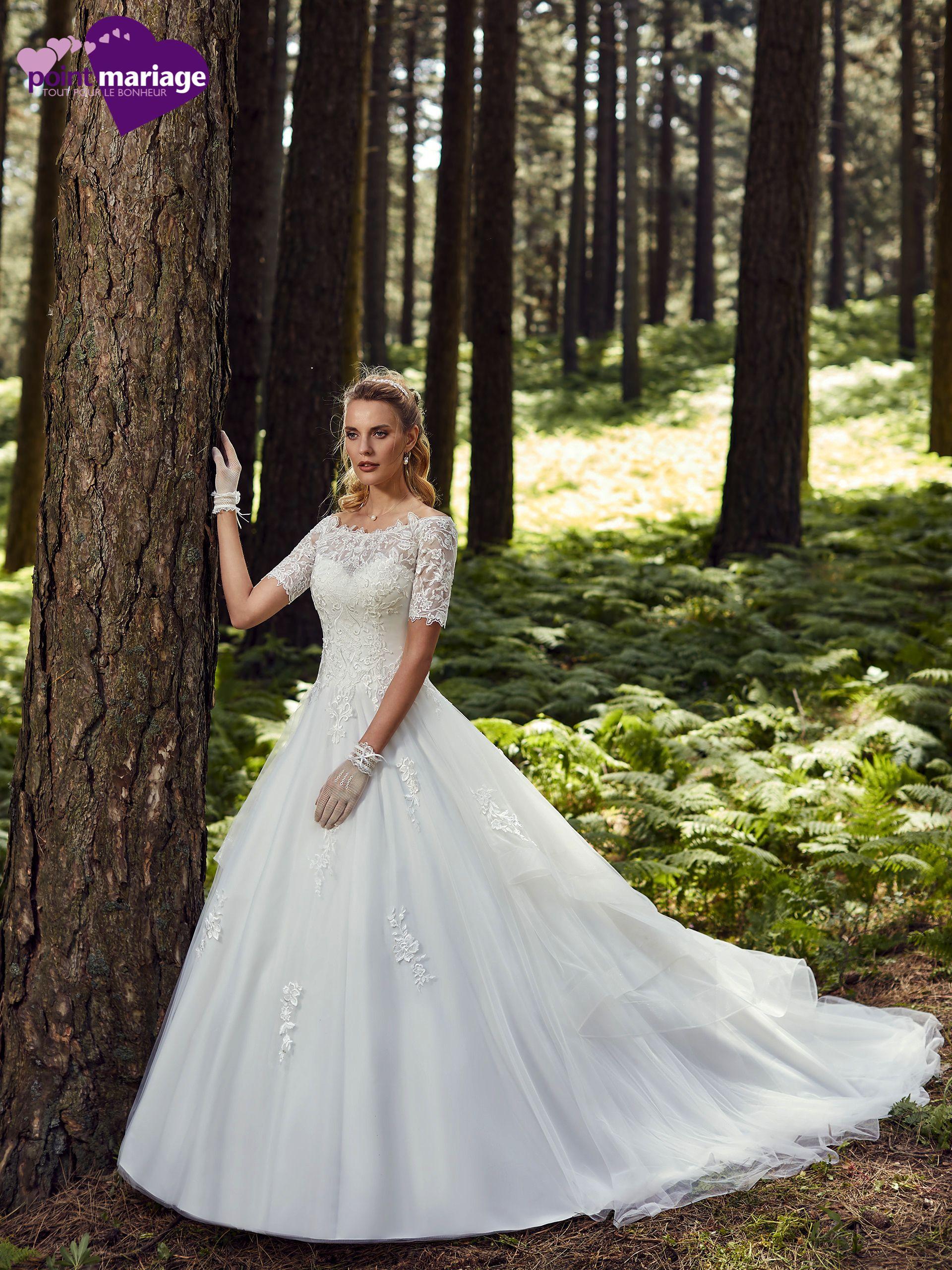 Robe de mariée Come, robe mariée manches