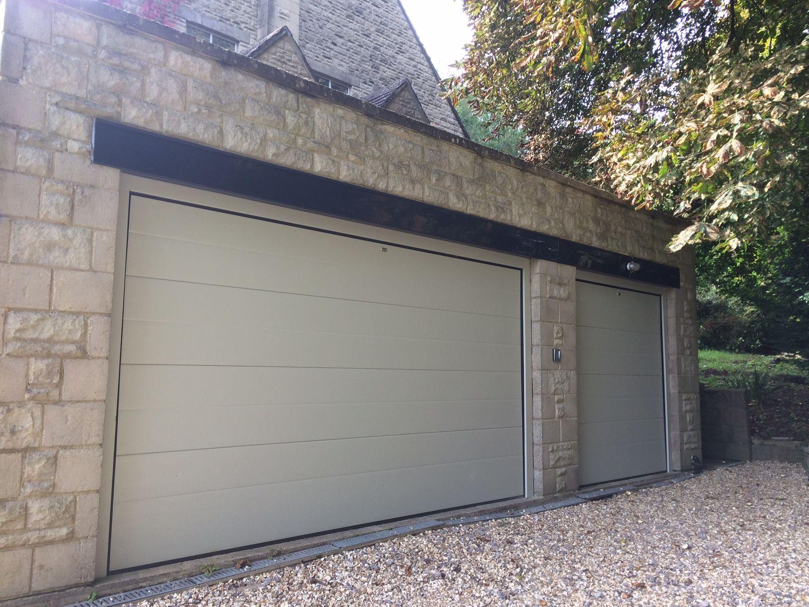 Sectional Garage Door Pebble Grey Ral 7032 Garage Doors