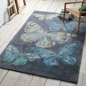 Butterfly Rug #West Elm