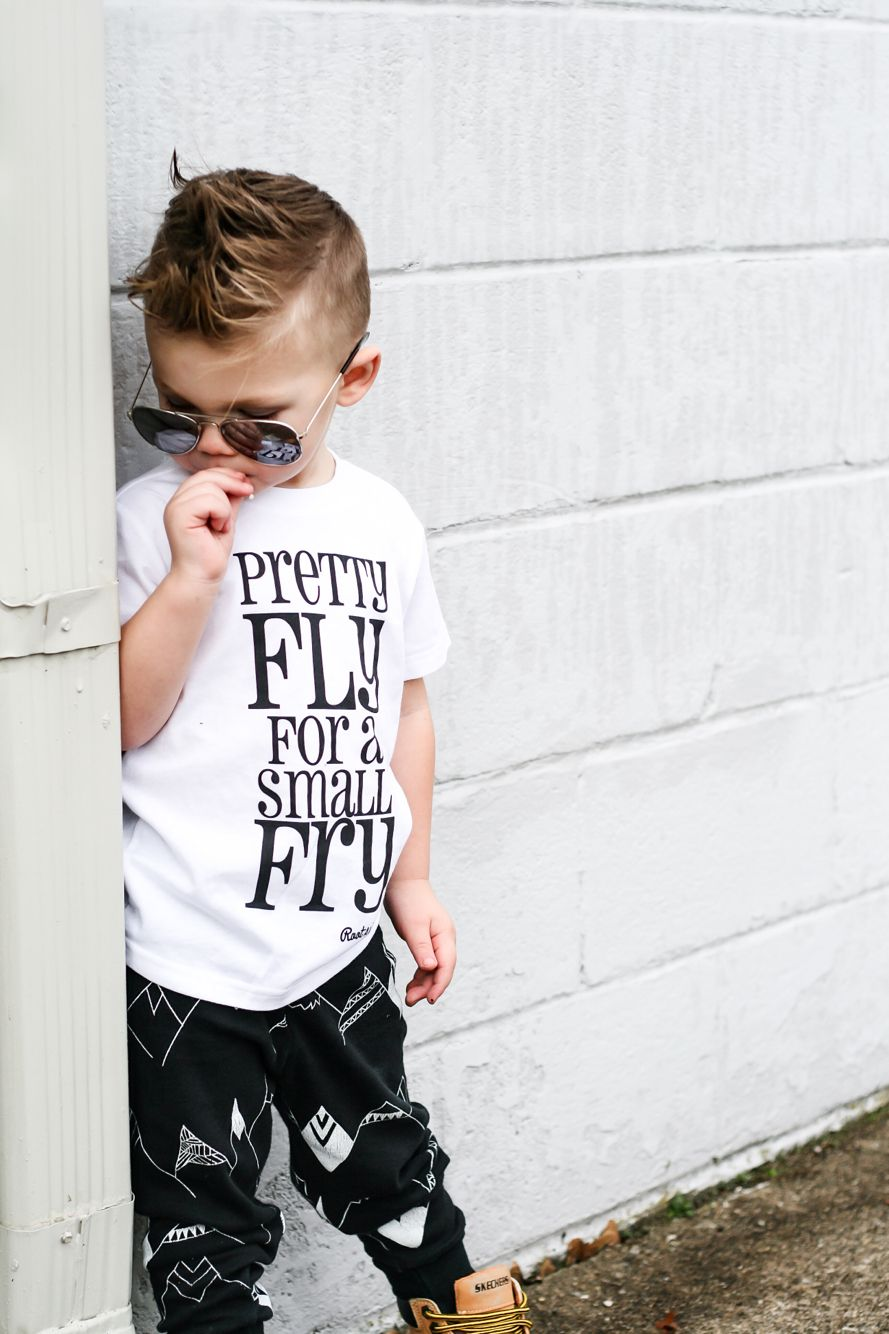 b77edef0d311 Pretty fly for a small fry   trendy cool boy clothes   baby ...