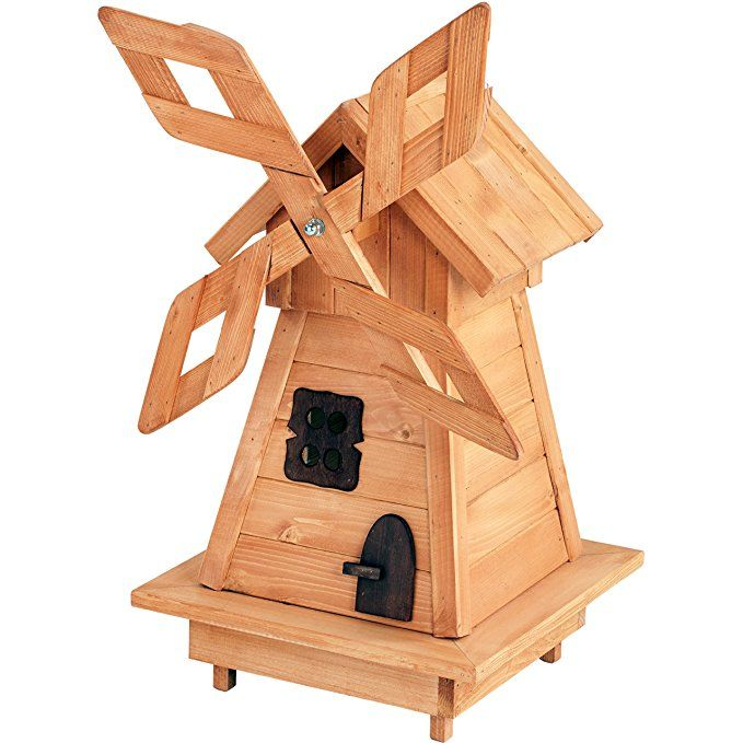 Gro E Windm Hle Aus Holz 95 Cm Impr Gniert I Dekorativer
