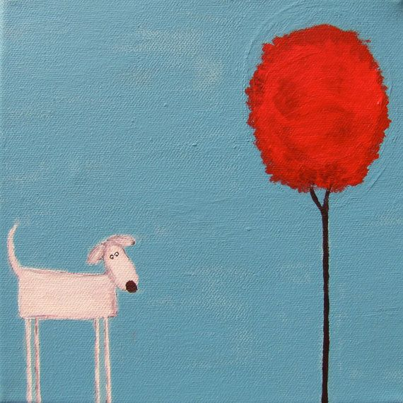 78e2c5de8388 love these whimsical dog paintings | For the Love of Dogs | Dog ...