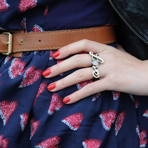 Love Dual Finger Ring....or As I Like To Call Them, Brass
