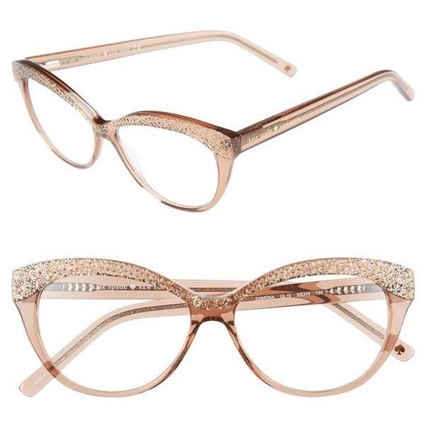 kate spade new york \'zabrina\' 52mm reading glasses ($98) ❤ liked on ...
