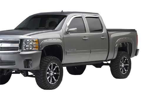 Lifted Chevrolet Silverado Truck Fender Flares