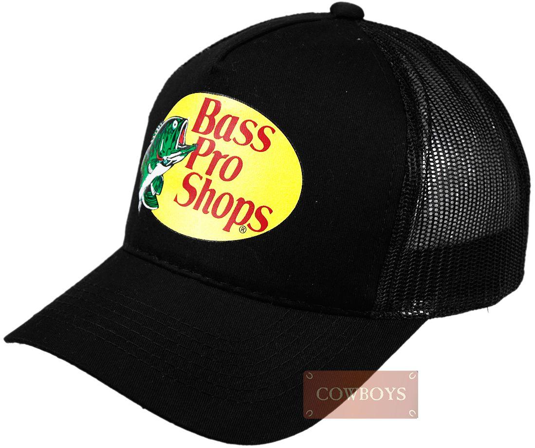Boné Bass Pro Shops Preto. Boné importado 5390f379197