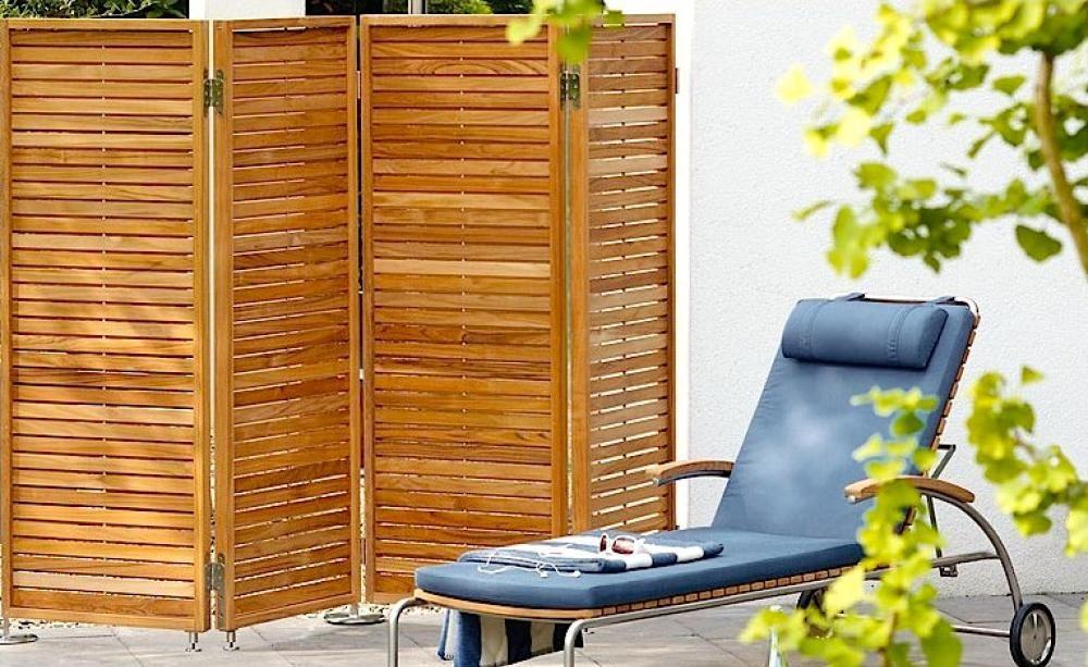 Sichtschutz für Balkon und Terrasse Terrasse Mobiler