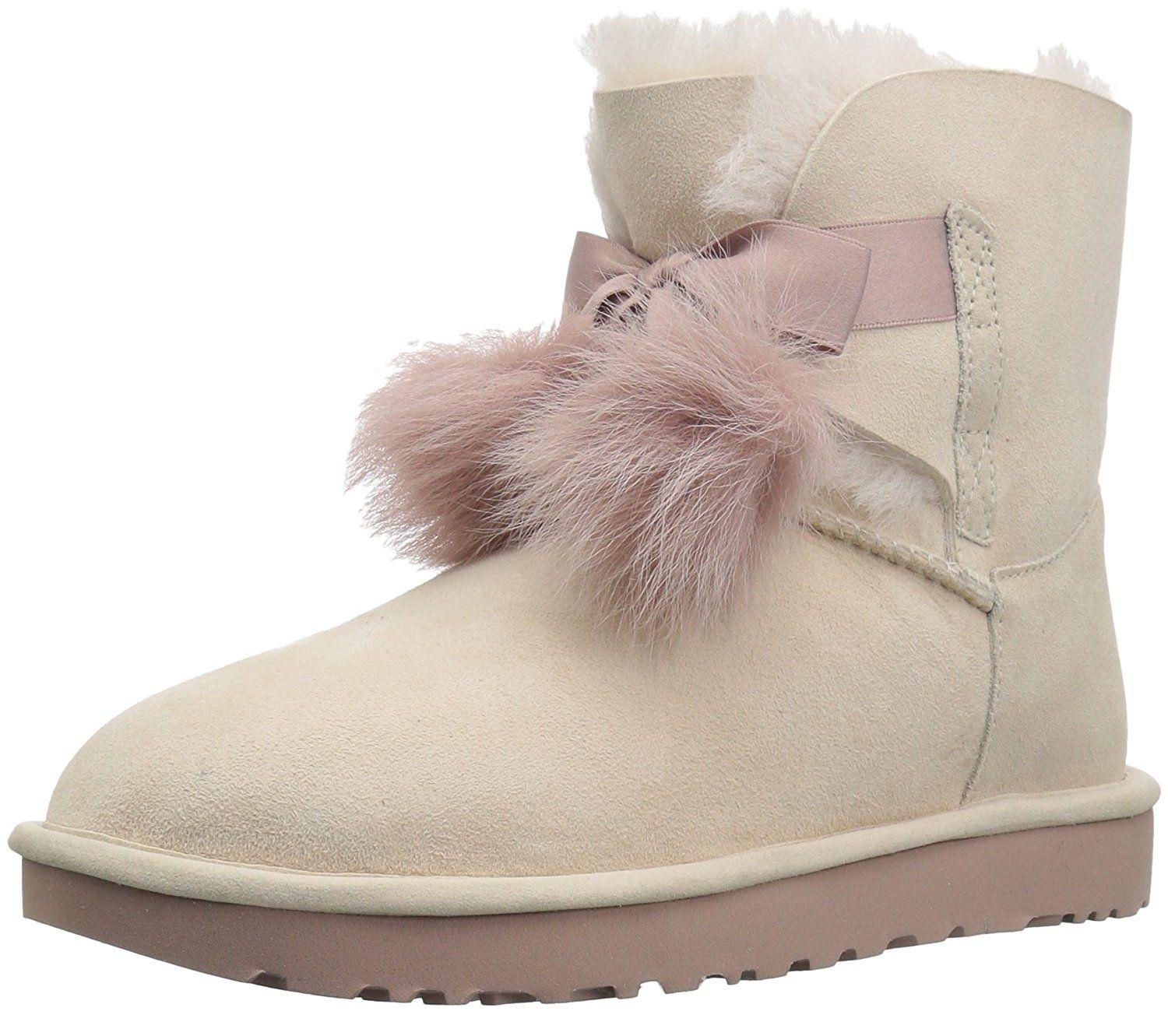 ccf69cb1400 Amazon.com | UGG Women's Gita Pom-Pom Boot | Ankle & Bootie | for my ...