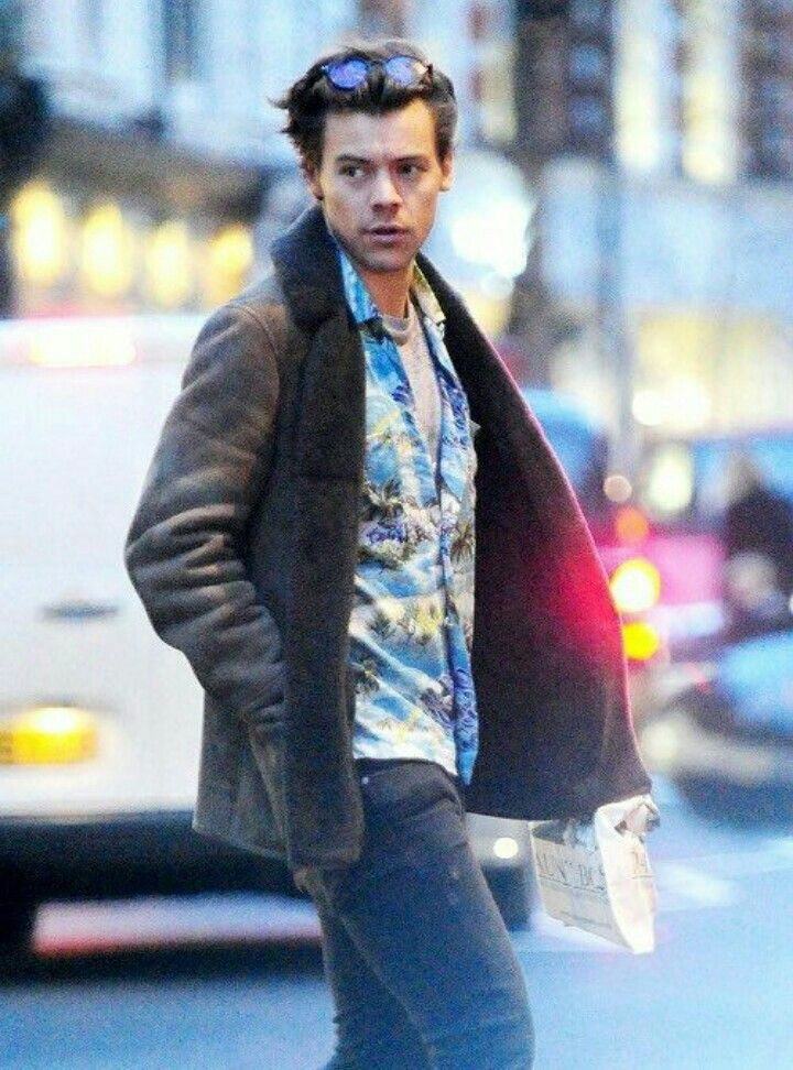 He is still in London. Though his hair