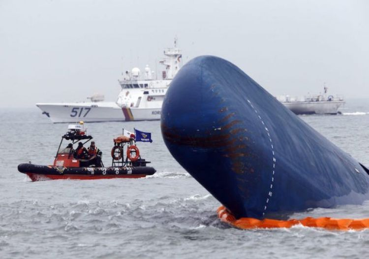South Korea Starts Sewol Ferry Salvage Ops Salvage Pinterest - cargo ship security officer sample resume