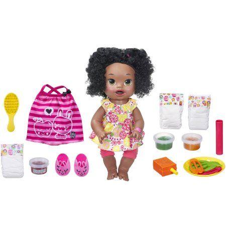 Baby Alive Super Snacks Snackin Sara With Bonus Pack African American Walmart Com Baby Alive Super Snacks American Baby