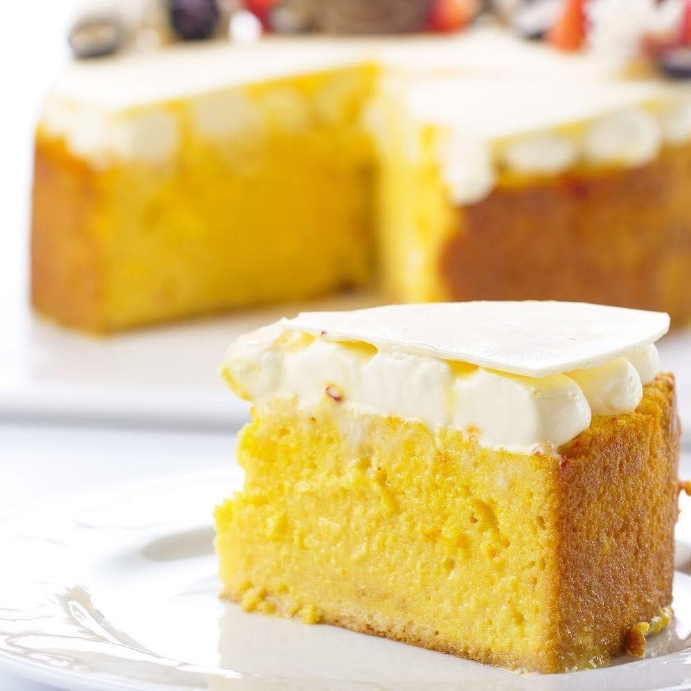 مبارك عليكم الشهر Saffron Milk Cake كيكة الزعفران بالحليب Cake Milk Cake Food