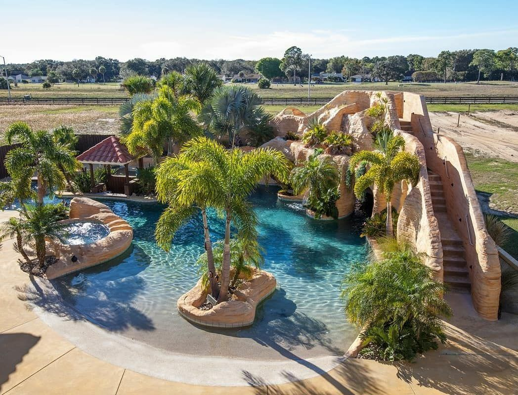 Imagine A Resort Style Pool In Your Very Own Backyard In