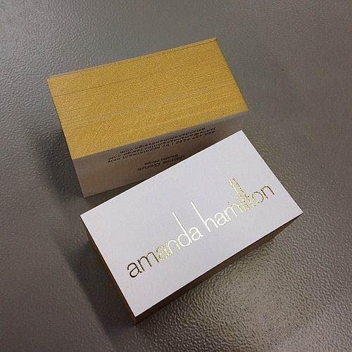 Gold brick or edge colored business cards bricks business and gold brick or edge colored business cards flickr photo sharing colourmoves