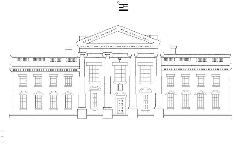 American Symbols Unit American Symbols House Colouring Pages American Symbols Unit