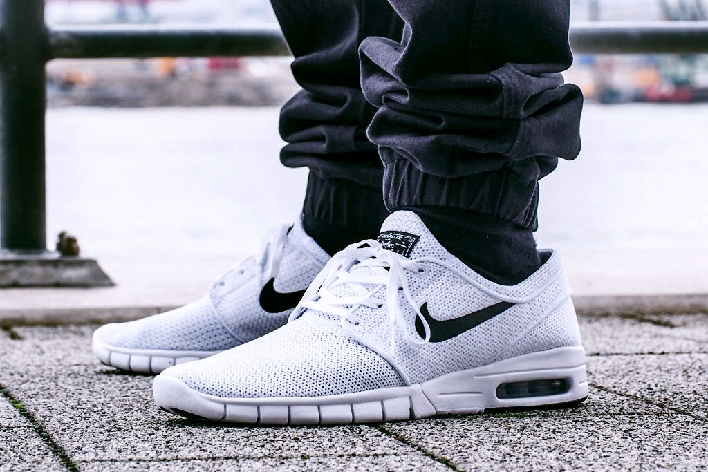 8be81c4402 NIKE SB STEFAN JANOSKI MAX  WHITE BLACK  (via Kicks-daily.com ...