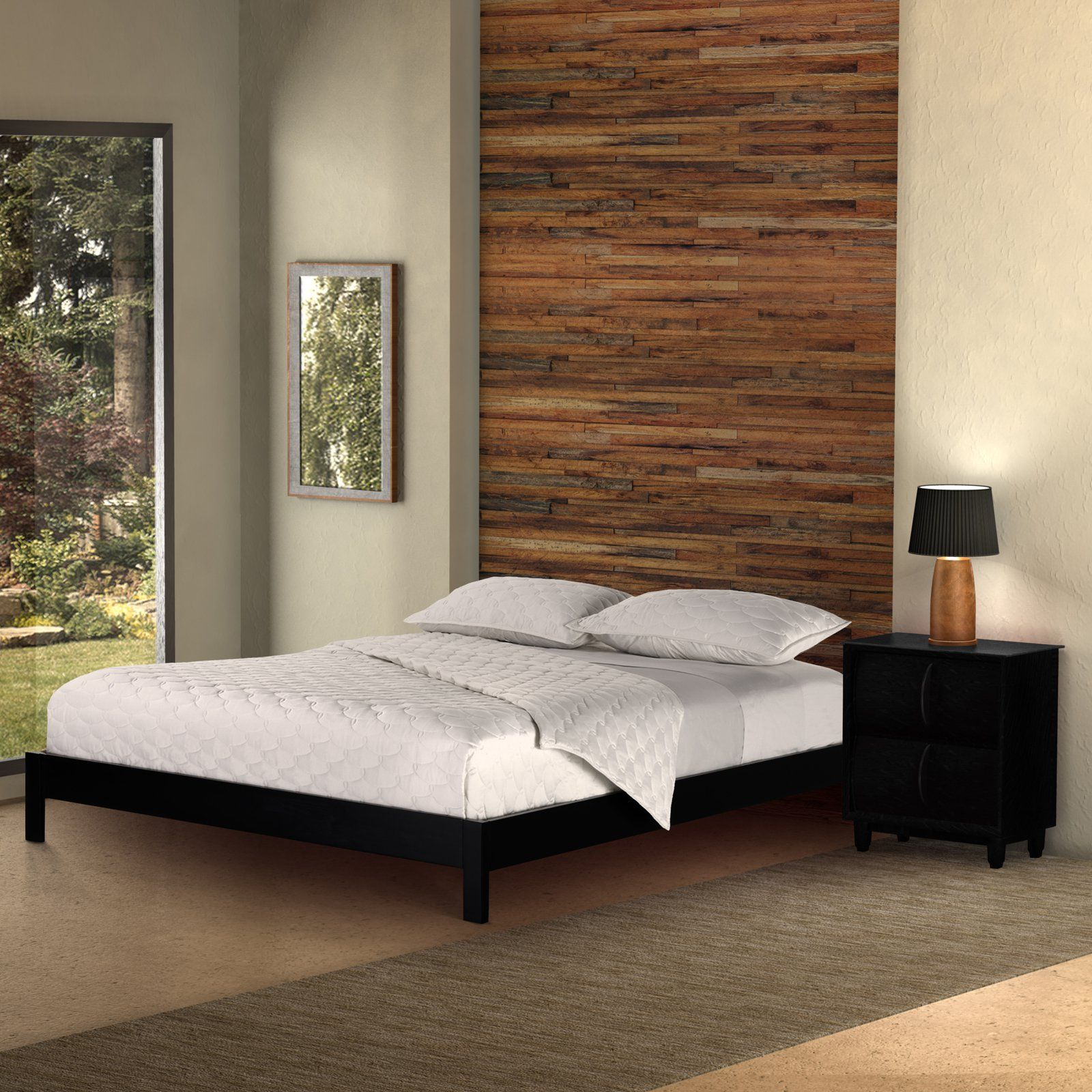 Fashion bed group murray platform bed from hayneedle com