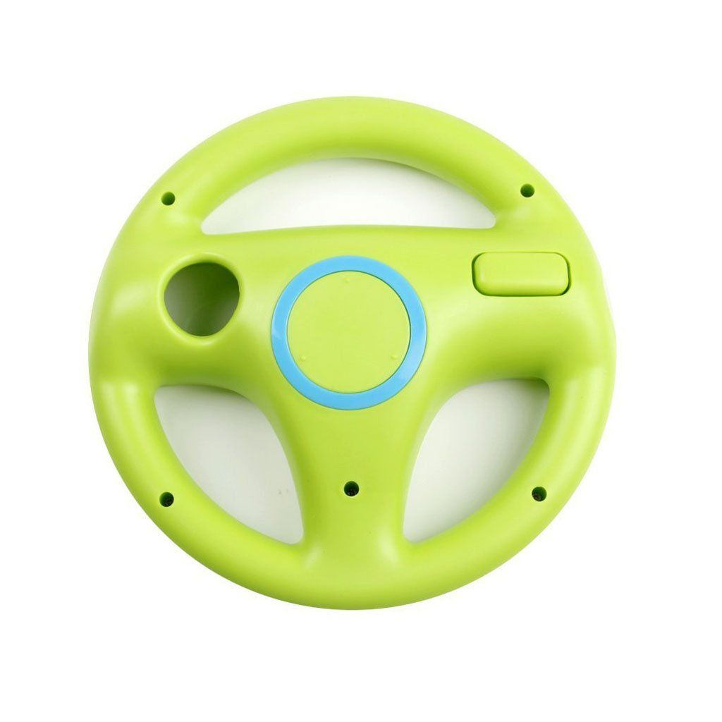 Gh Wii Steering Wheel For Mario Kart 8 And Other Nintendo Remote Driving Games Wii U Racing Wheel For Remote Plus Cont Game Remote Wii Accessories Mario Wii