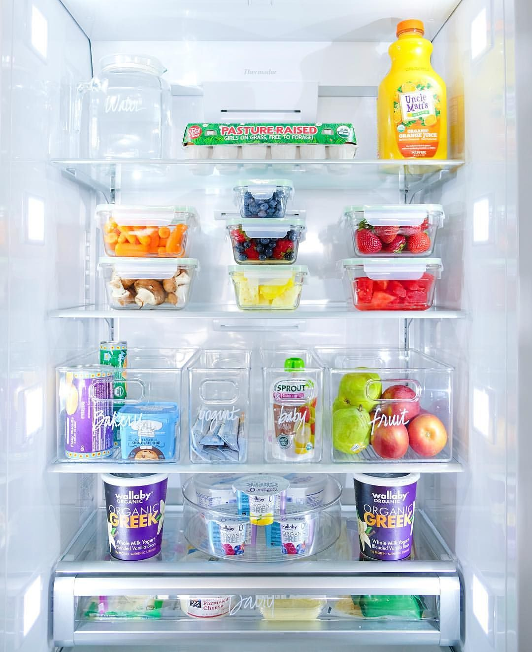 Pin by Olivia f on fridge organization | Pinterest | Fridge ...