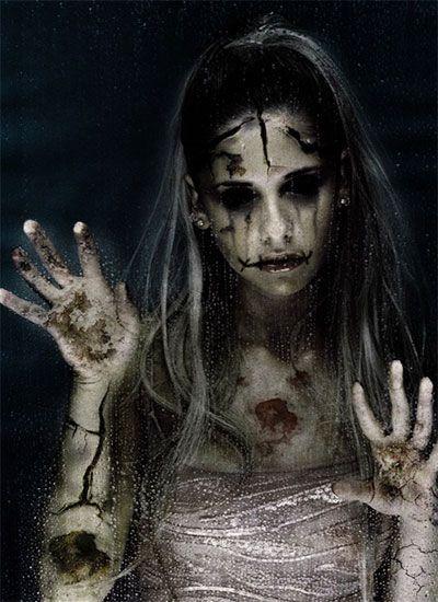 Creative Unique Scary Halloween Costume Ideas For Girls Women 2013 - terrifying halloween costume ideas