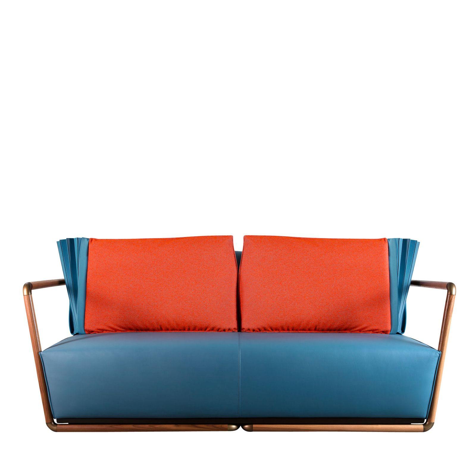 Blu Niagara Sofa By Selene Tunesi Shop Adele C Online At Artemest Italian Furniture Italian Leather Sofa Luxury Italian Furniture
