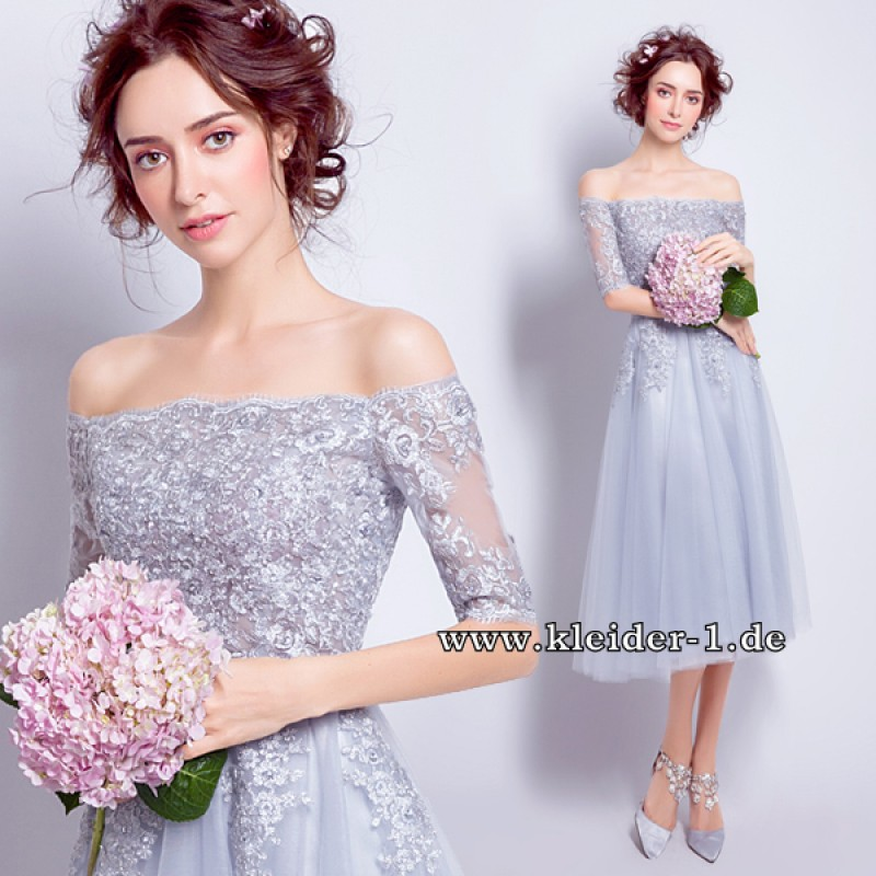 Schulterfreies Flieder Abendkleid Anastacia | Brautkleider ...