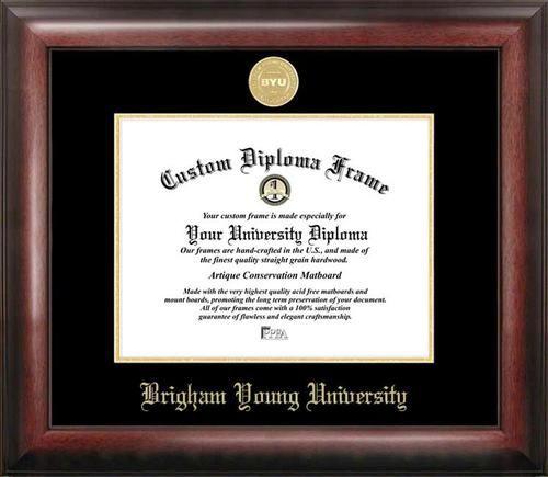 Campus Images NCAA Unisex Spirit Diploma Manhattan Black Frame with Bonus Lithograph Value Savings $59