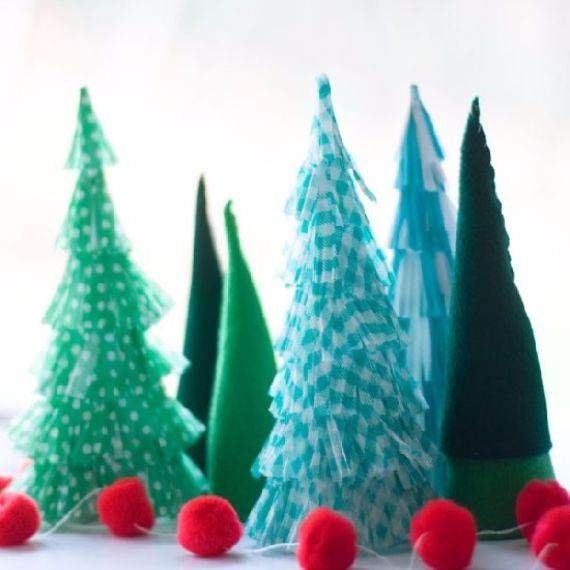 Beautiful Tabletop Christmas Trees Decorating Ideas  Designs
