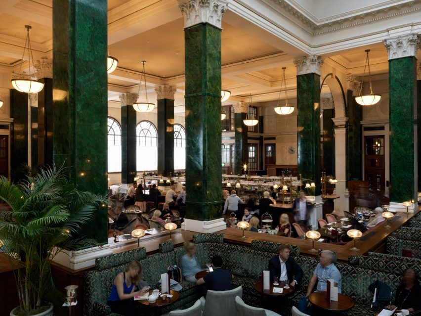 Soho banken : The ned soho house s grand hotel in the city of london interior