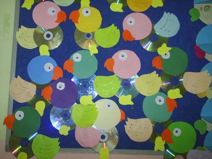 Cd Craft Ideas For Kids Part - 40: Cd Parrot Craft | Crafts And Worksheets For Preschool,Toddler And  Kindergarten