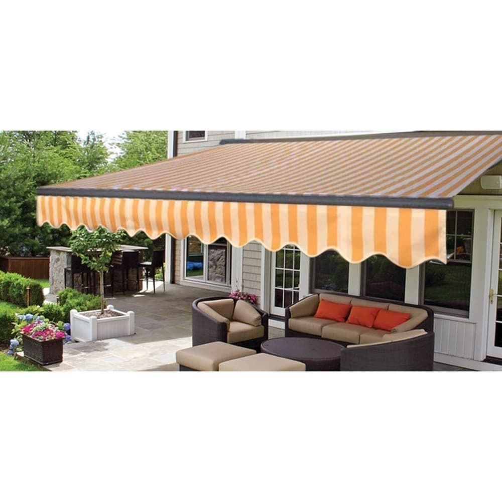 Pin By Sharon Misischia On Gazebos In 2020 Patio Awning Deck Awnings Patio Sun Shades