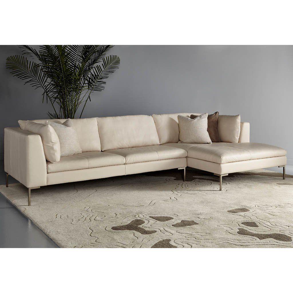 Inspiration Modern Sofa By American Leather High Leg Fabric