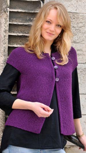 e20fc2d5 Tværstrikket trøje | Familie Journal | Knitting | Strikkeopskrift ...