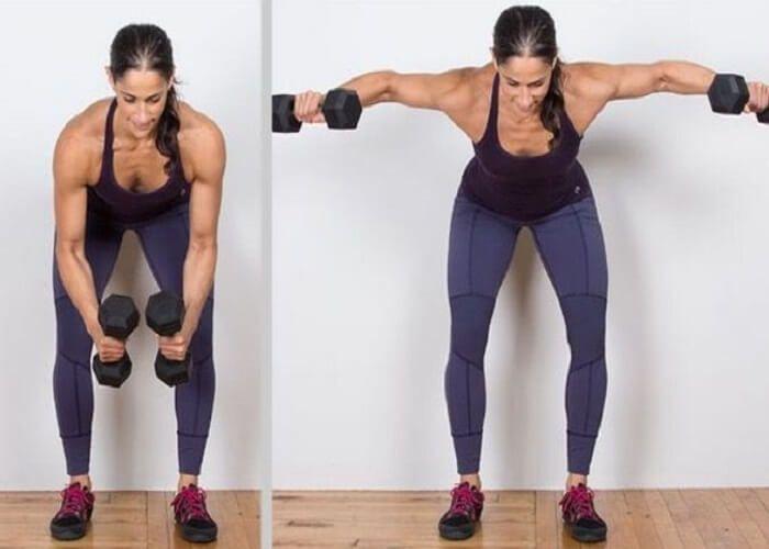 Ejercicios para una espalda y brazos definidos - Adelgazar en casa -   16 fitness Mujer espalda ideas