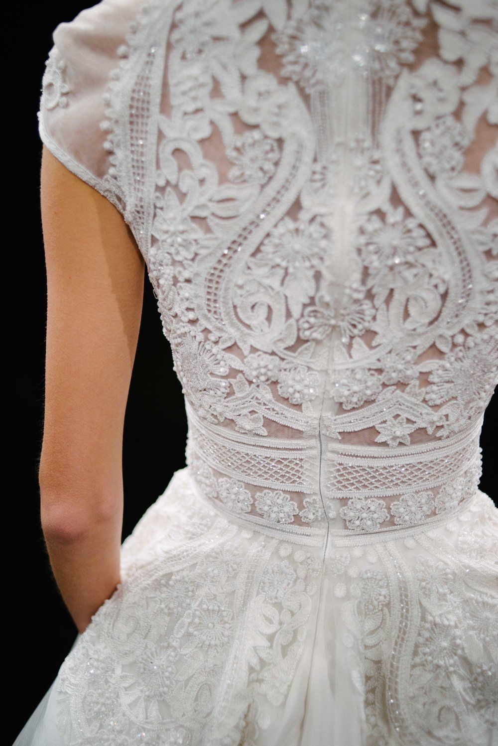 The naeem khan 2017 couture bridal collection naeem khan couture new york bridal fashion week 2016 naeem khan available at little white dress bridal junglespirit Images