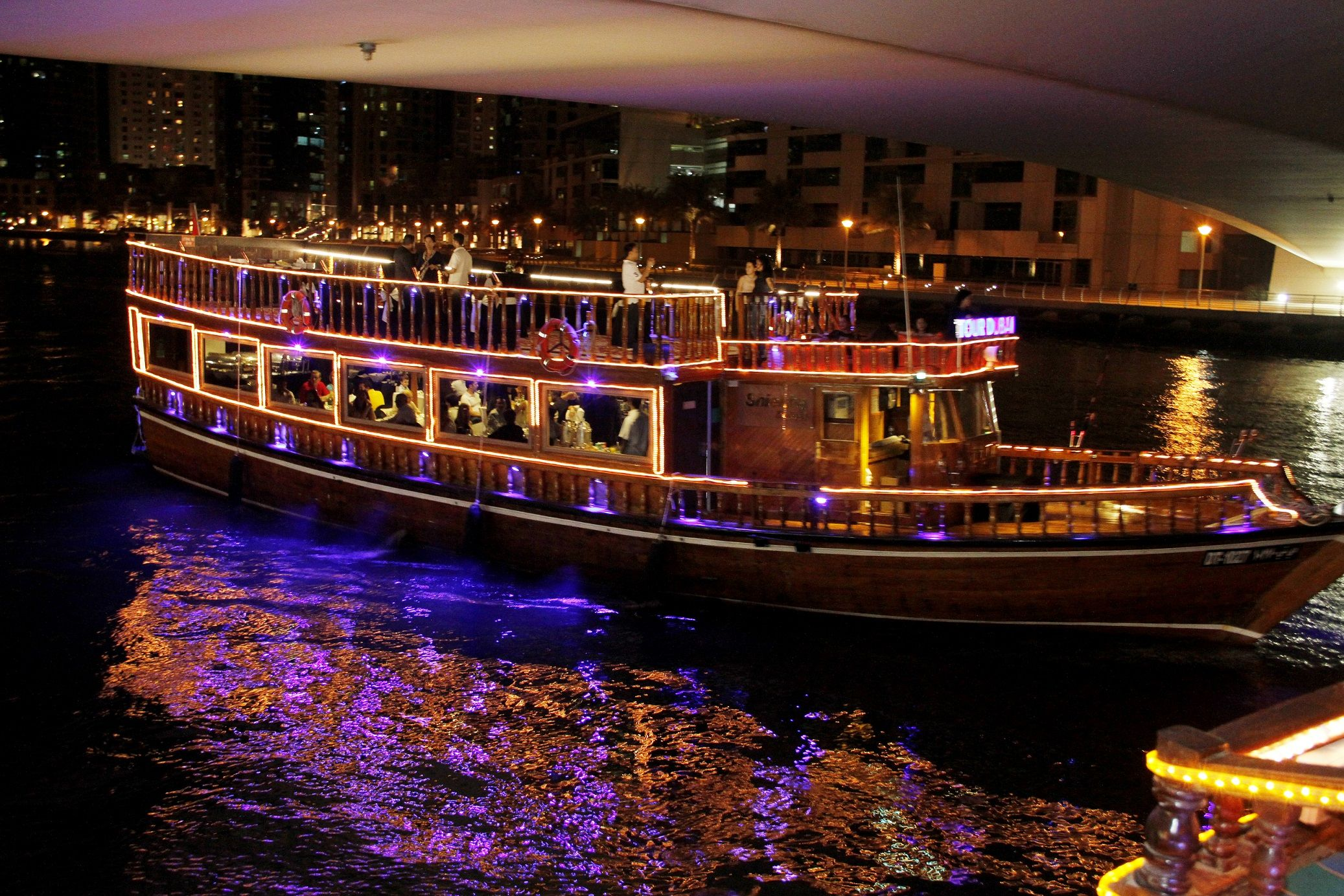 Evening Dhow Dinner Cruise Dubai