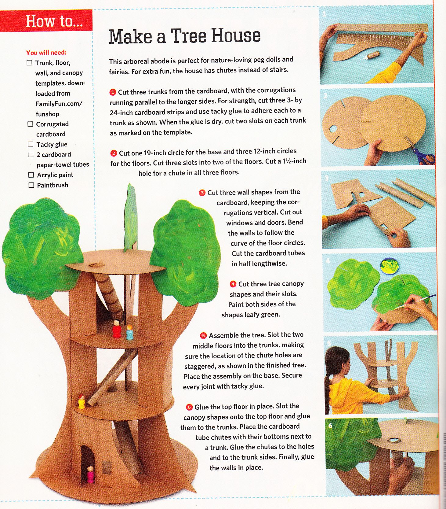 Make A Treehouse