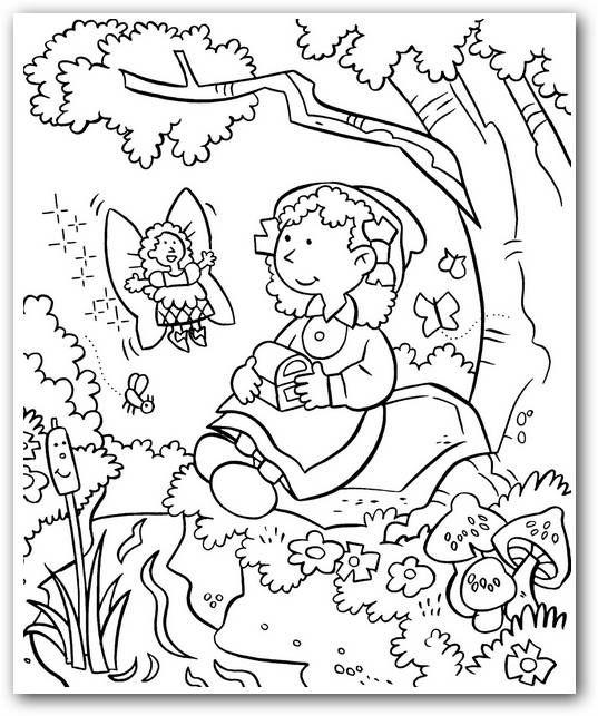 Dibujos De Jardín Para Colorear Fotos O Imágenes Portadas Para Facebook Coloring Pages Garden Coloring Pages Fruit Coloring Pages