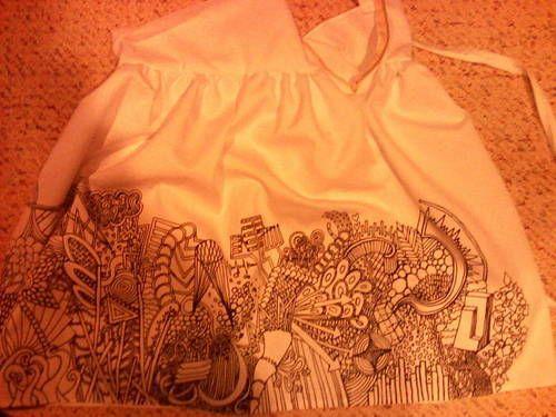 Pop art inspired high waisted skirt - CLOTHING