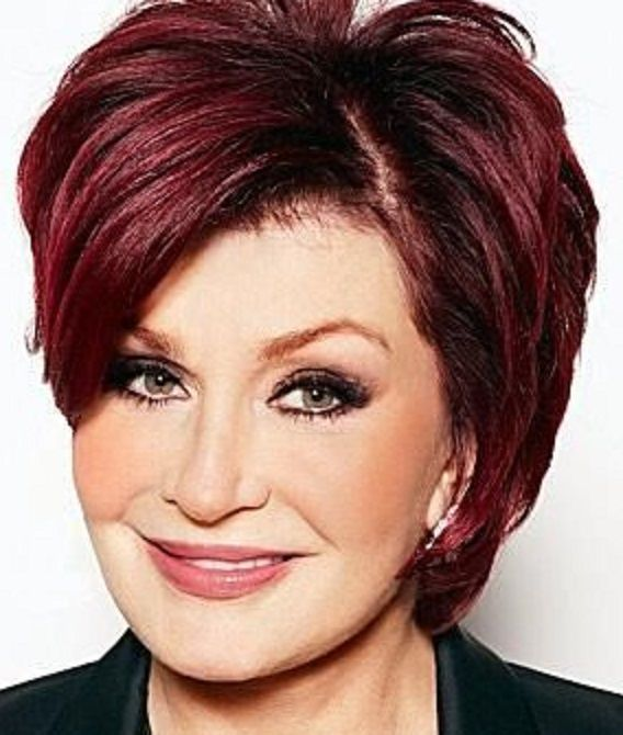 Sharon Osbourne Short Hair With Bangs Sharon Osbourne Hair Short Hairstyles Over 50