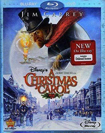 Disney's A Christmas Carol (Two-Disc Blu-ray/DVD Combo) | Christmas carol, Disney blu ray, Blu ...