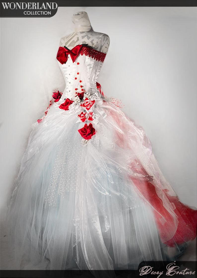 White Wedding Gown White Wedding Dress Victorian Corset Etsy White Wedding Dresses Red Wedding Dresses Unique Wedding Gowns [ 1117 x 794 Pixel ]