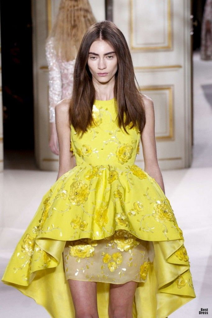 Giambattista Valli dress — with its rise-and-fall - Google Search