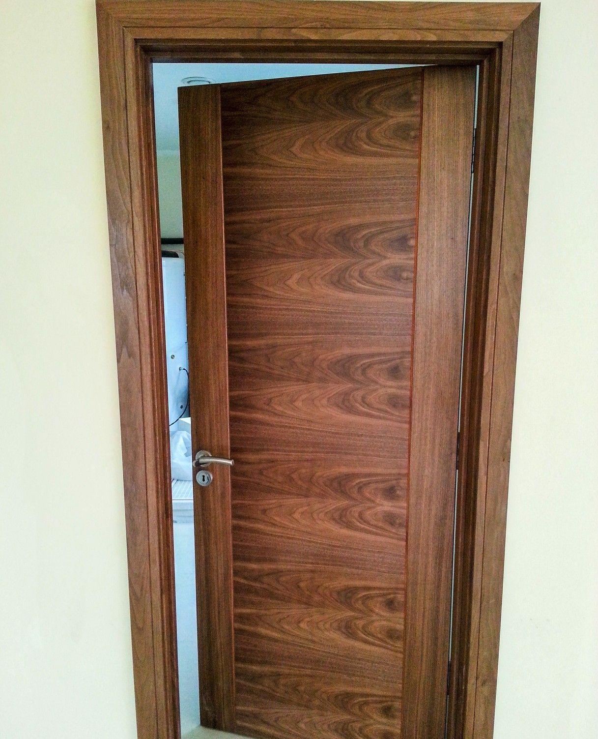 Murphy Larkin Walnut Doors In 2020 Walnut Doors Prehung Doors Contemporary Doors